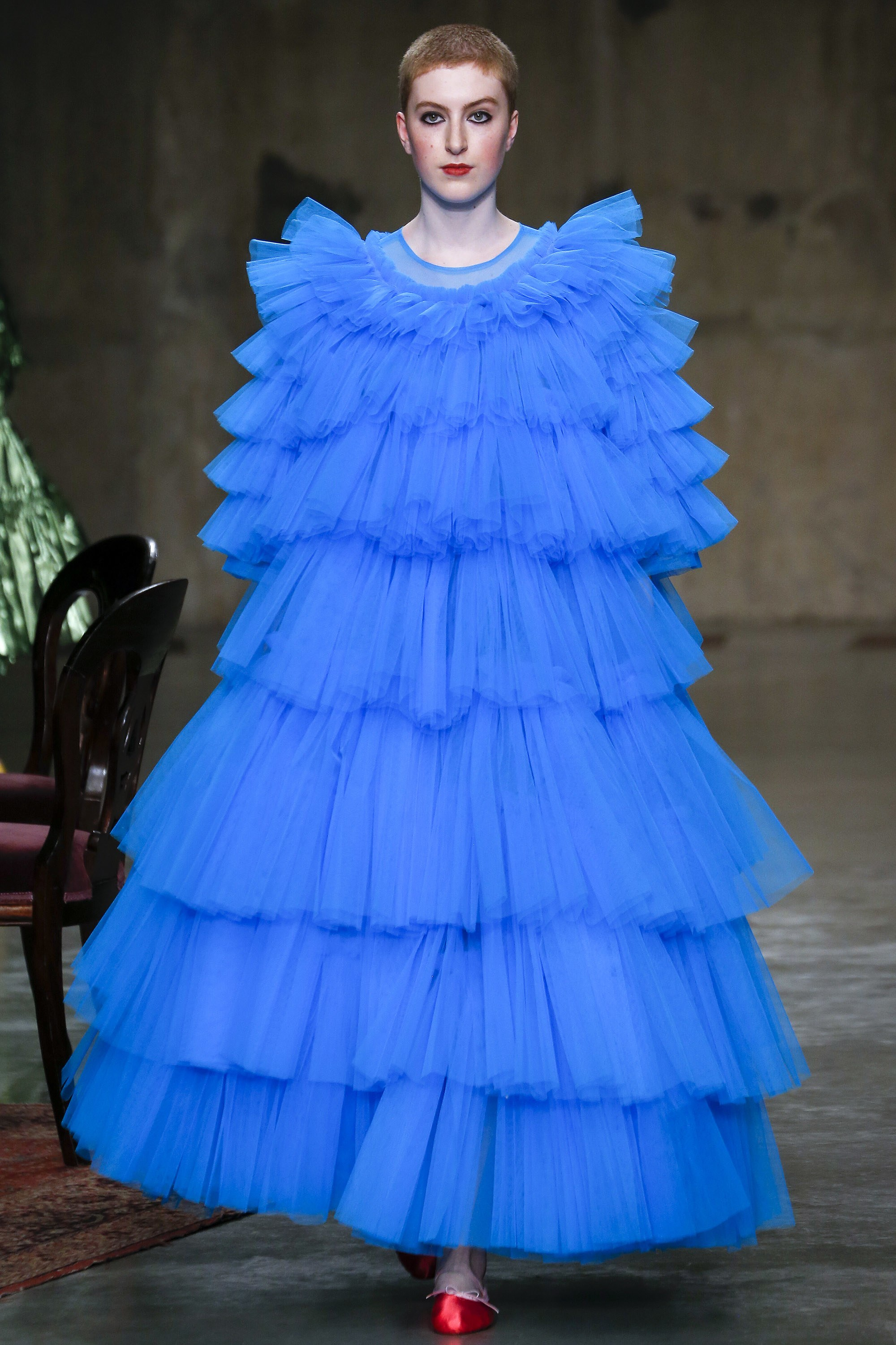 casual tulle dress photo - 1