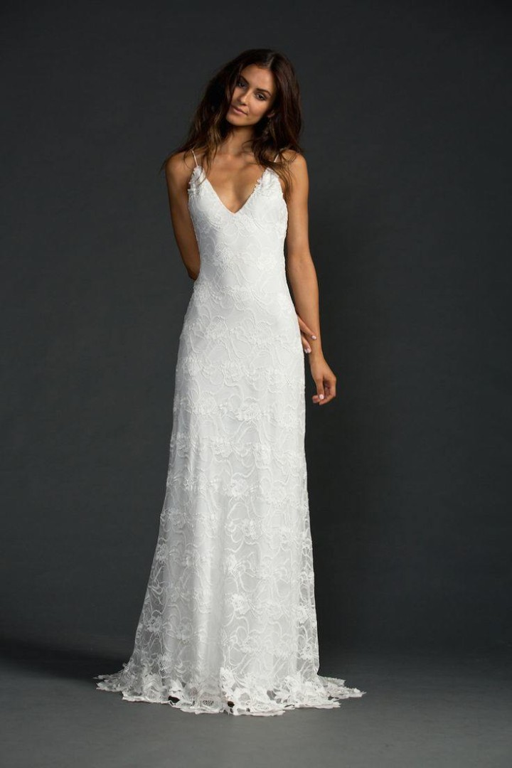 casual wedding dress photo - 1