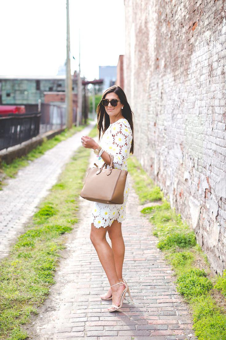 casual white dress photo - 1