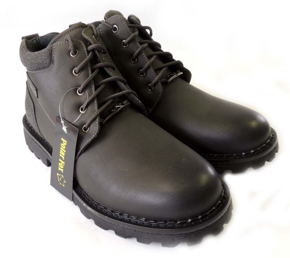 combat style boots mens photo - 1