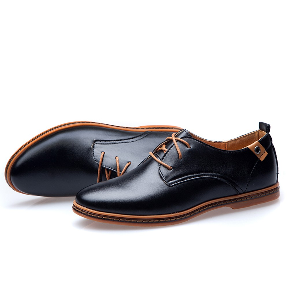 comfortable mens business casual shoes photo - 1
