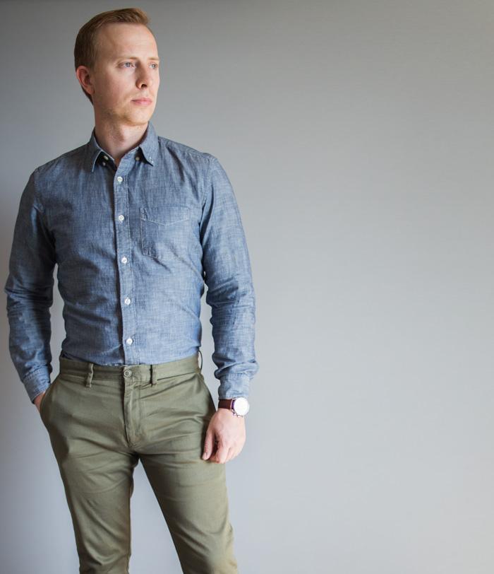 dress casual men photo - 1