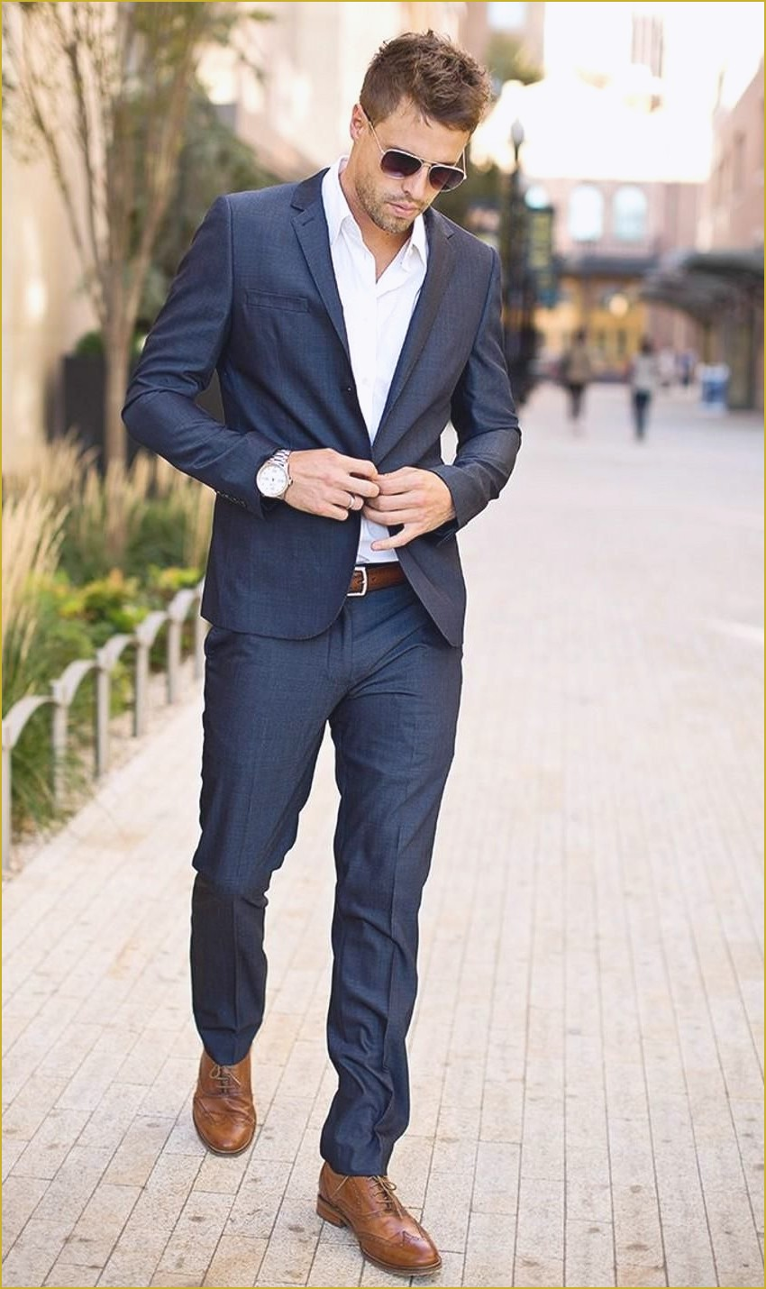 dressy casual attire men photo - 1