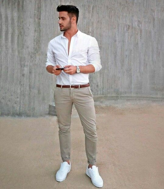 dressy casual mens outfit photo - 1