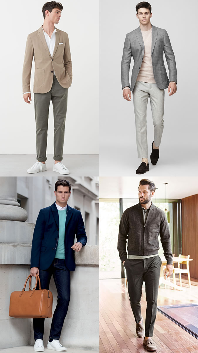 examples of business casual clothing photo - 1