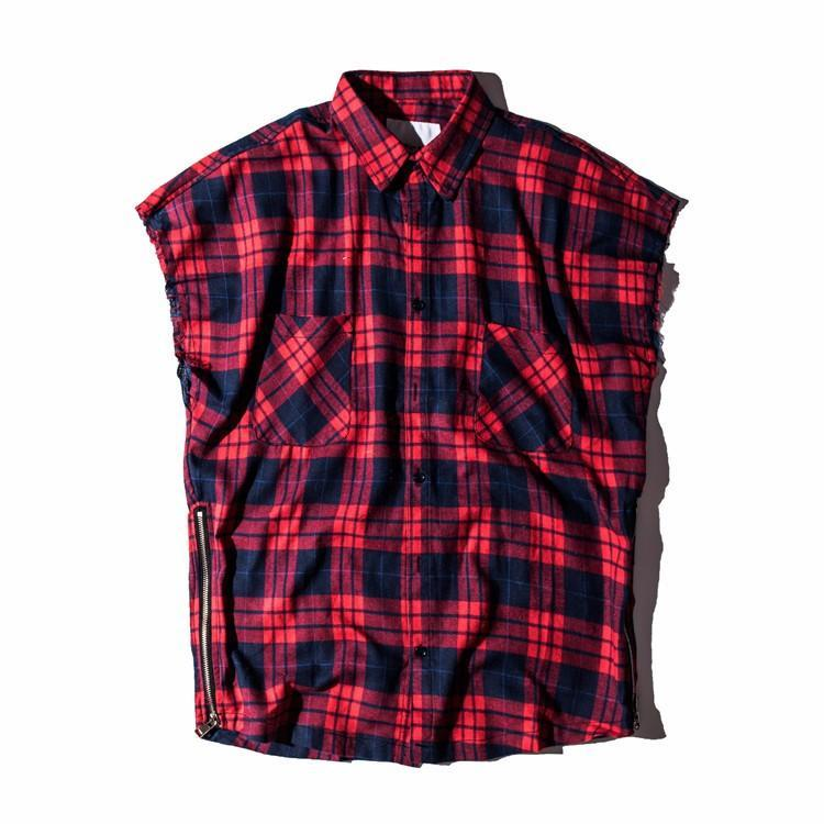 flannel shirt mens style photo - 1