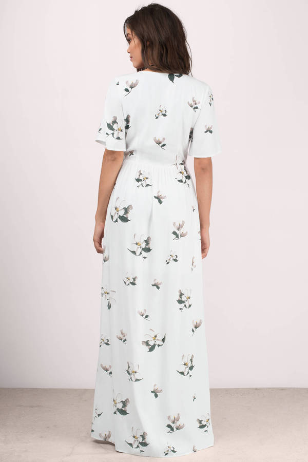 floral casual dress photo - 1