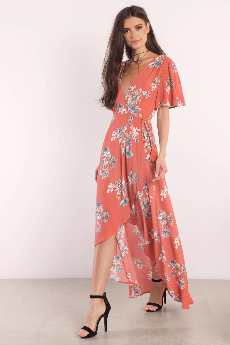 high low dress casual photo - 1