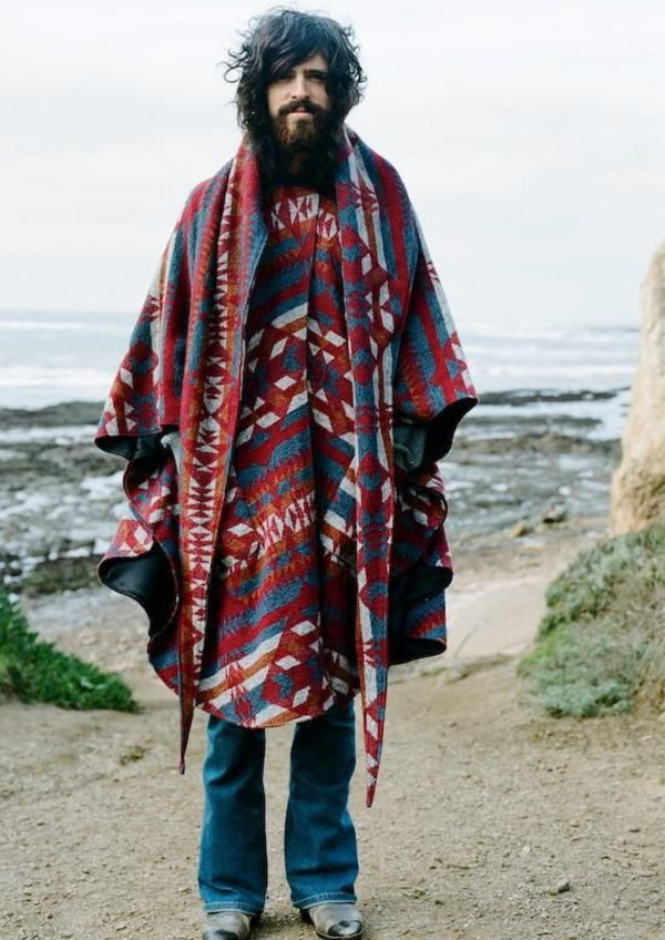 hippie style mens clothing photo - 1