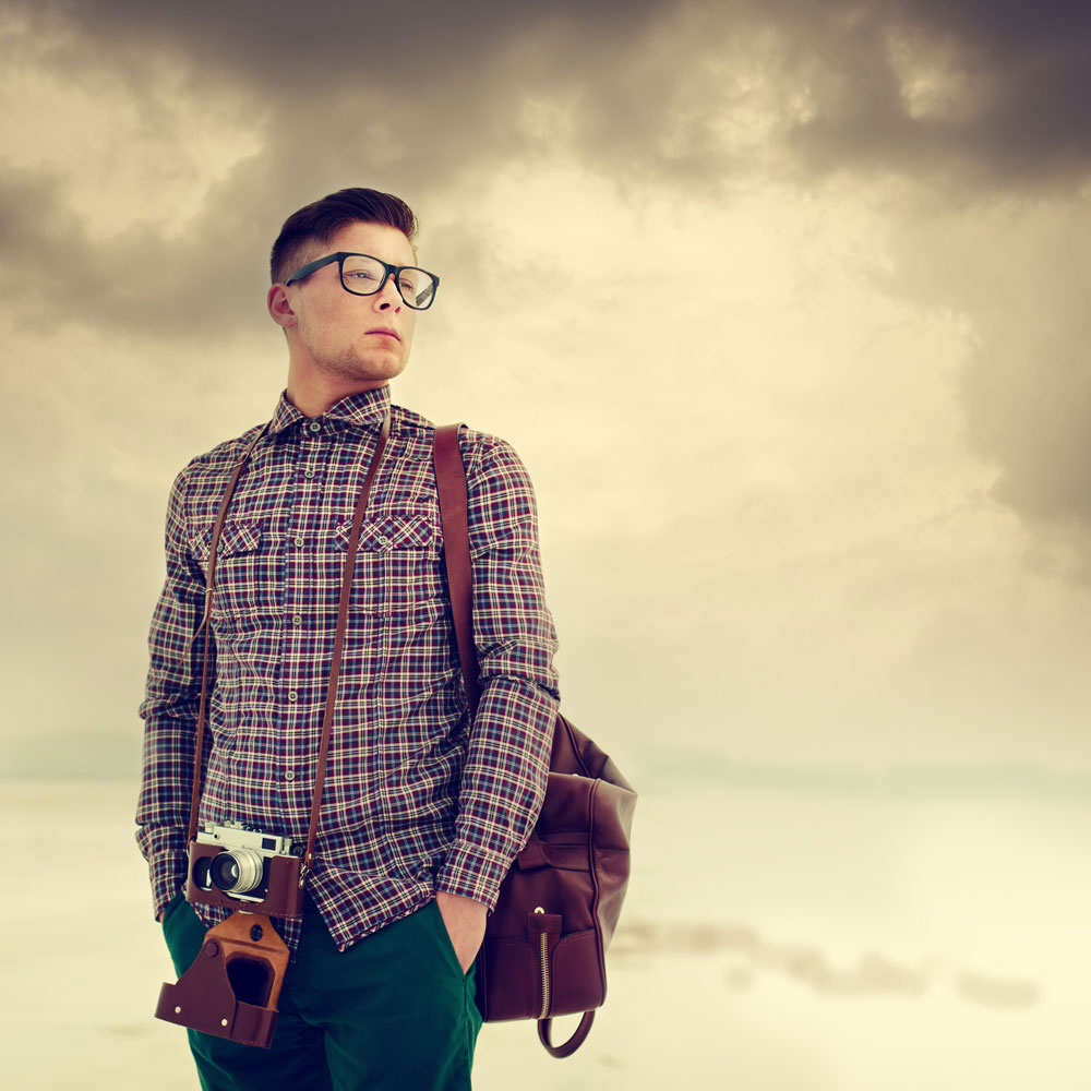 hipster style mens photo - 1