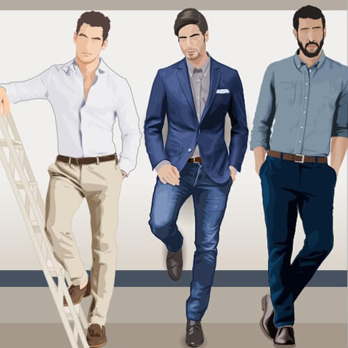 is polo business casual photo - 1