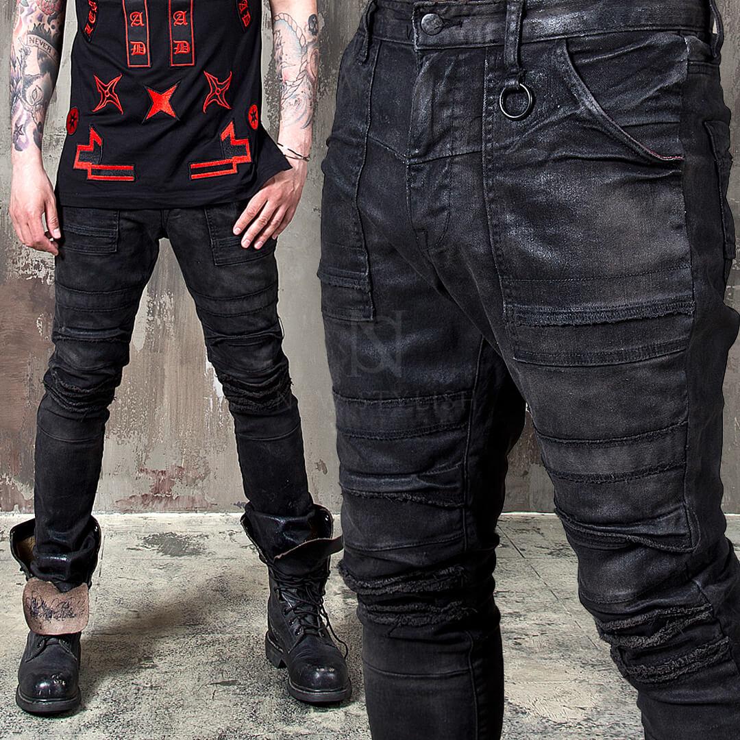 jean shorts mens style photo - 1
