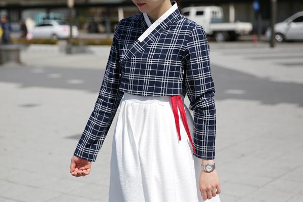 korean casual dress photo - 1