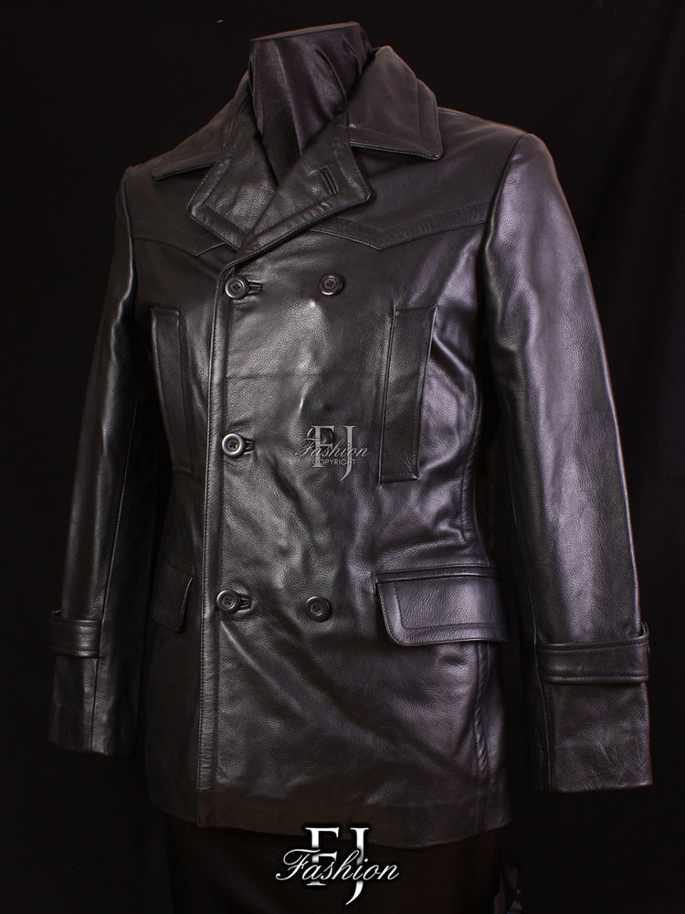 leather jacket mens style photo - 1