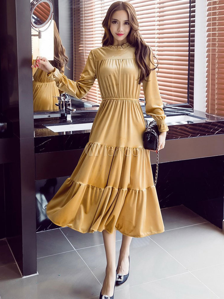long dress casual wear photo - 1