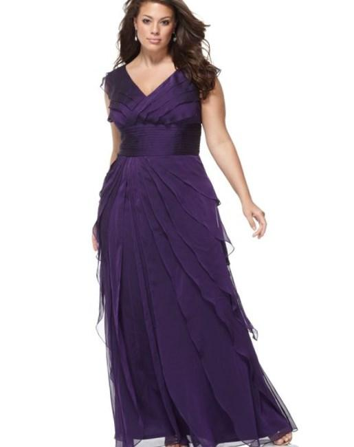 long sleeve prom dresses macys photo - 1