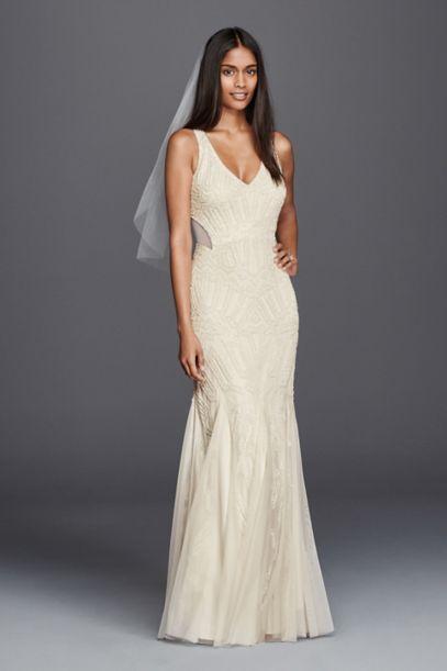 long white casual dress photo - 1