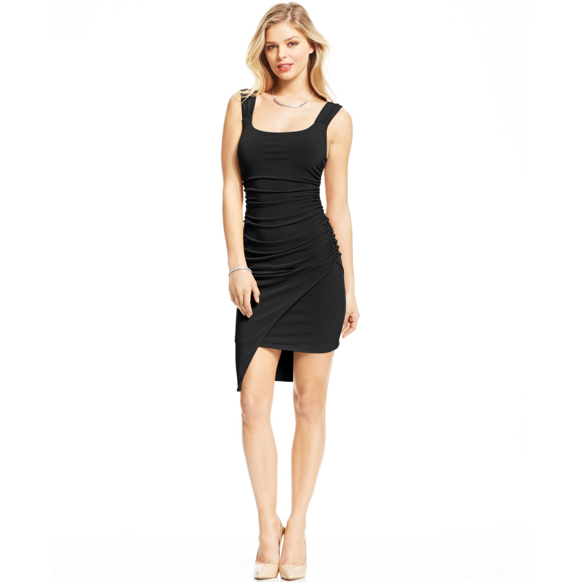 macys black dresses photo - 1