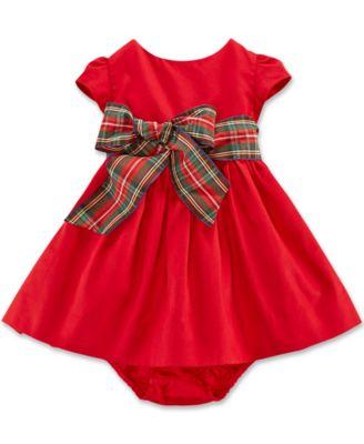 macys infant christmas dresses photo - 1