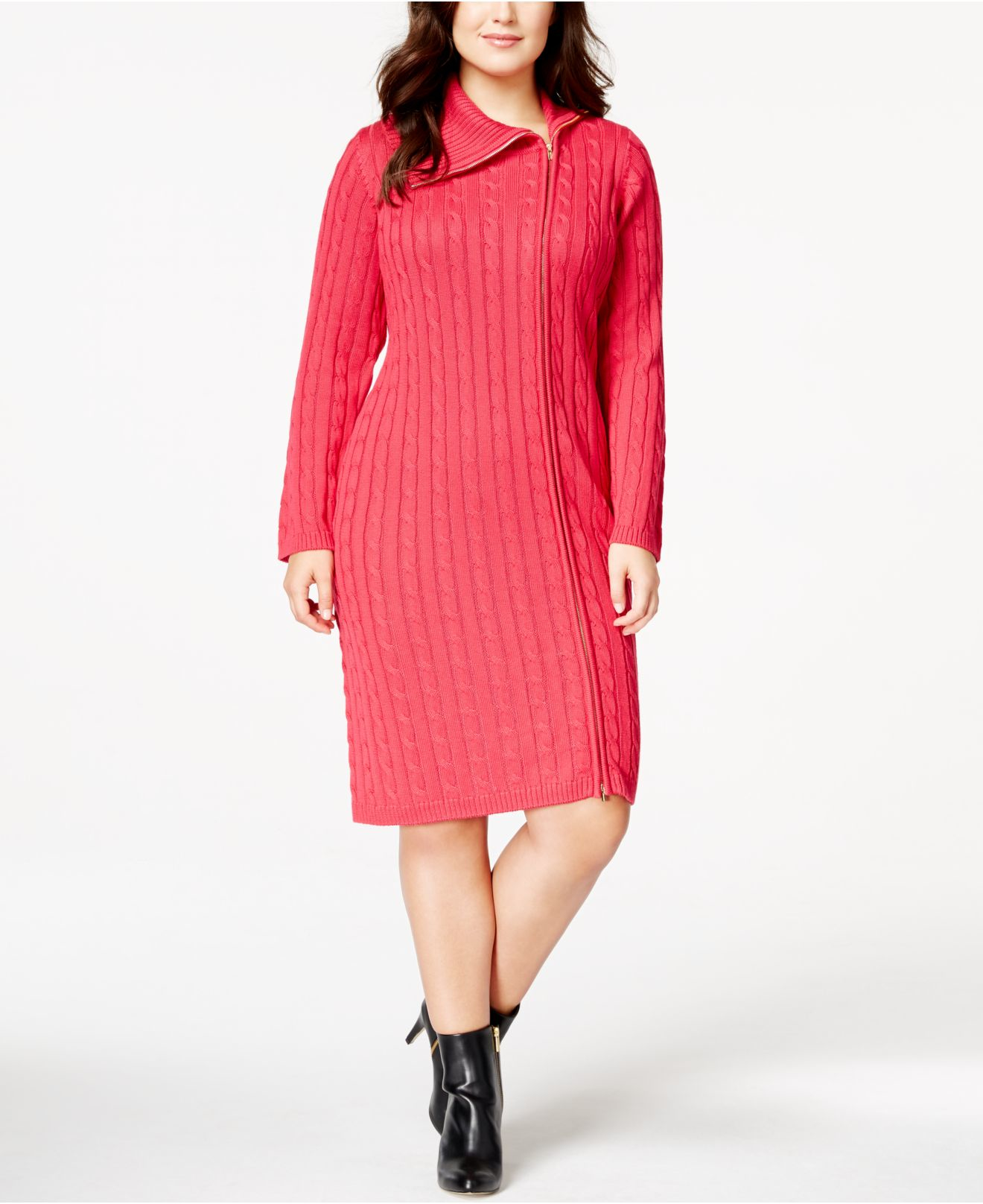 macys knit dresses photo - 1