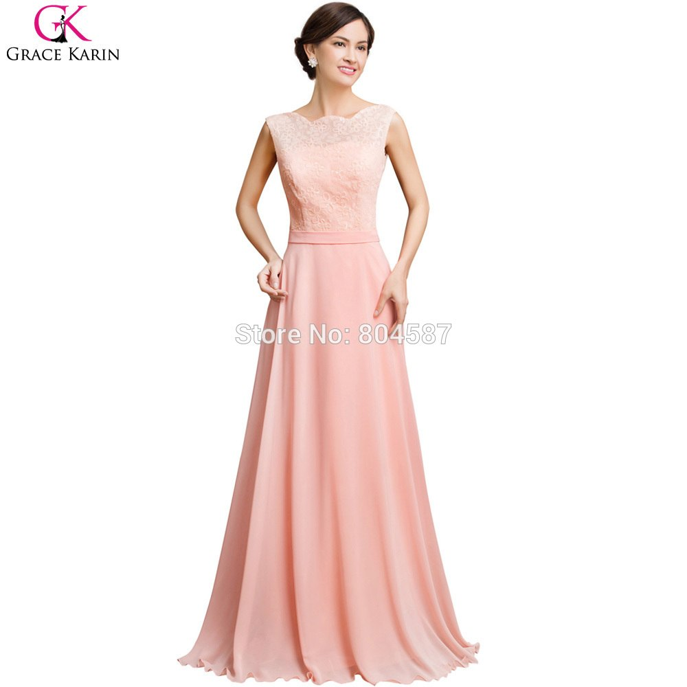 macys pink dresses photo - 1