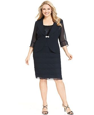 macys plus size dresses photo - 1