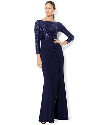 macys plus size evening dresses photo - 1