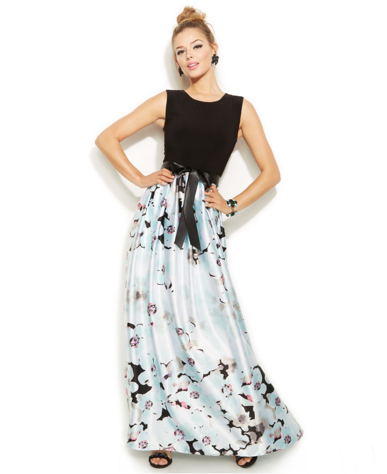 macys plus size prom dresses photo - 1