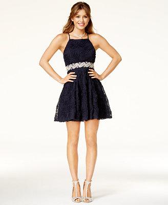 macys prom dresses in store photo - 1