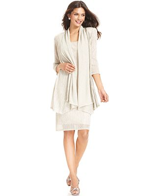 macys womens jacket dresses photo - 1