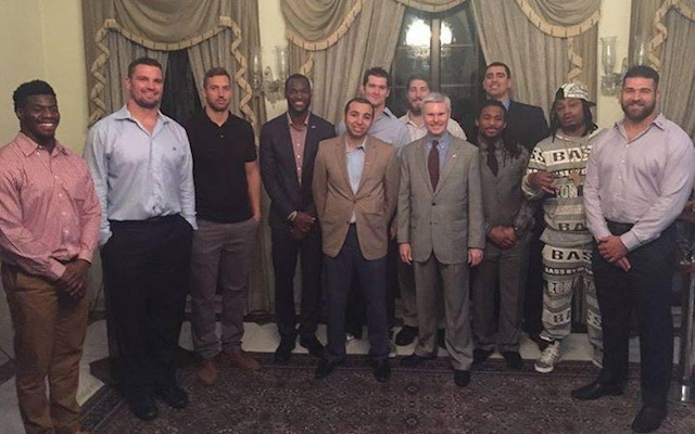 marshawn lynch business casual photo - 1