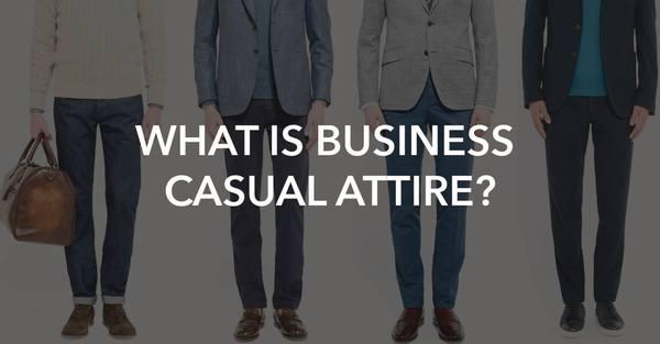 men business casual attire photo - 1