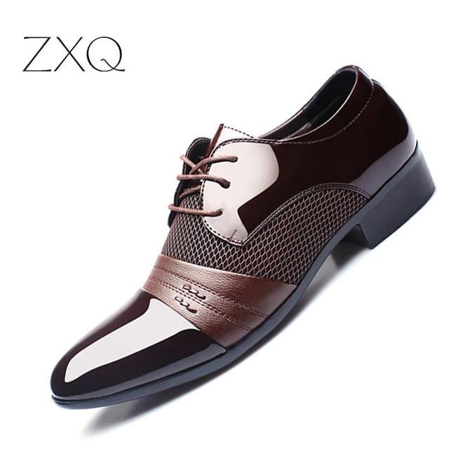men casual dress shoes photo - 1