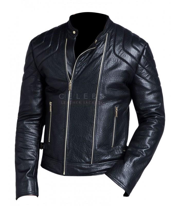mens biker style jackets photo - 1