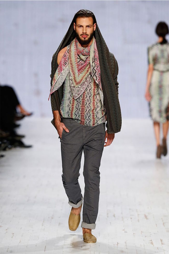 mens bohemian style photo - 1