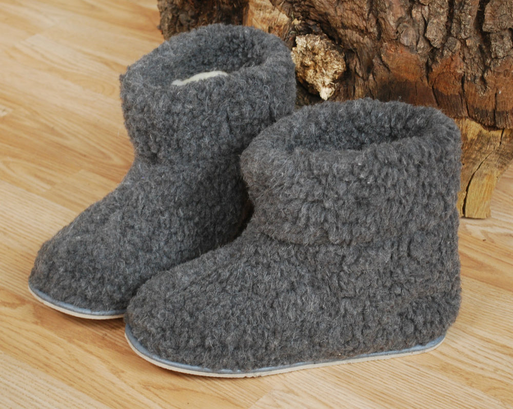 mens boot style slippers photo - 1