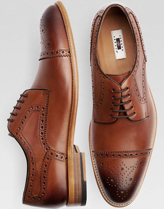 mens brown casual dress shoes photo - 1