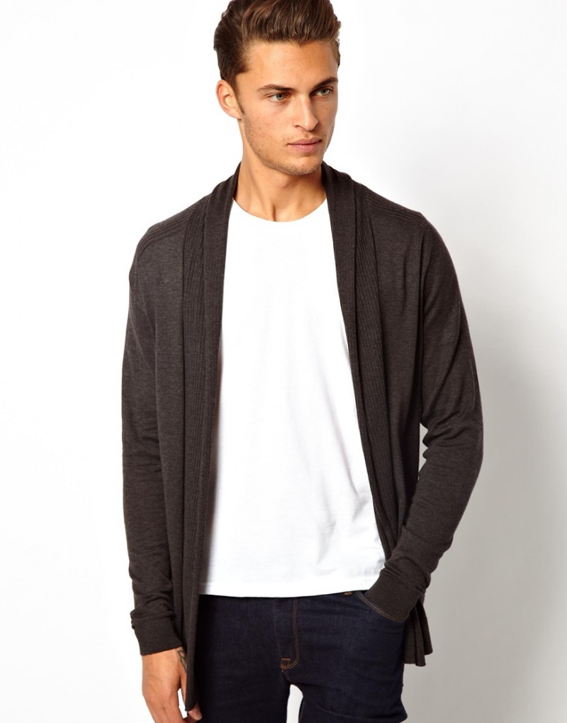 mens cardigan style photo - 1