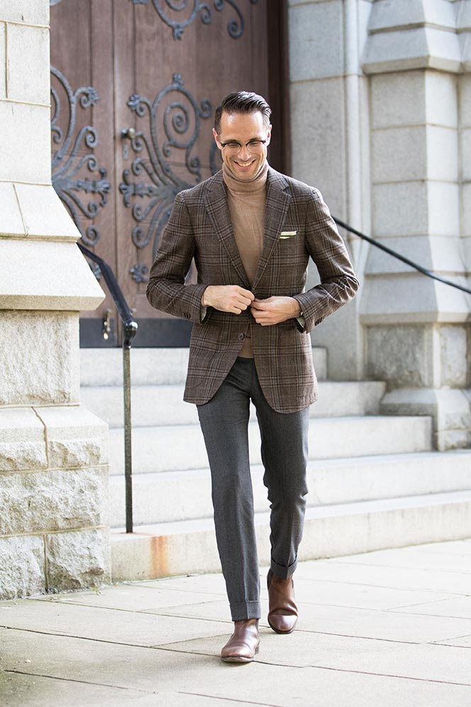 mens casual business photo - 1