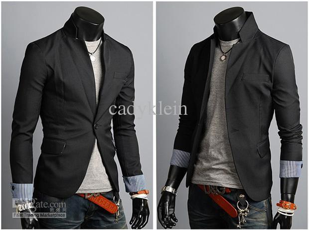 mens casual dress jacket photo - 1
