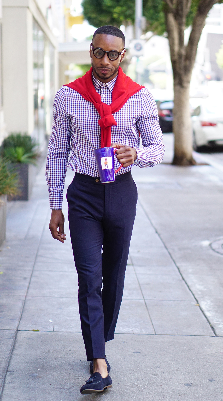 mens casual dress shirt photo - 1