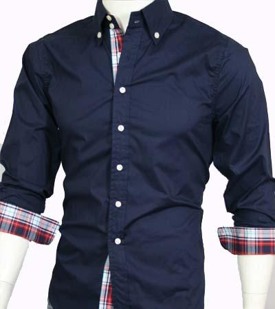 mens casual dress shirts long sleeve photo - 1