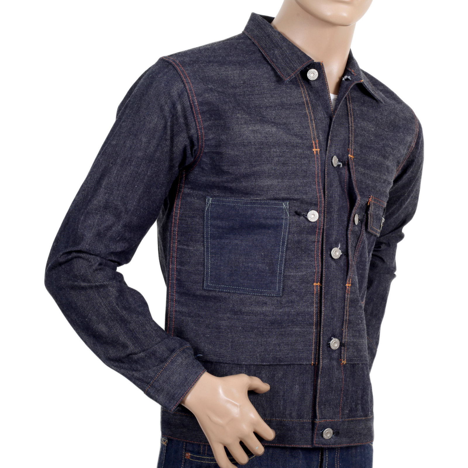 mens denim jacket style photo - 1