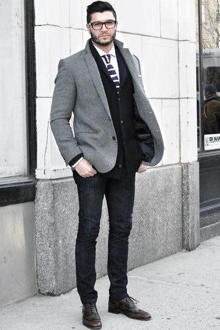 mens fashion business casual photo - 1