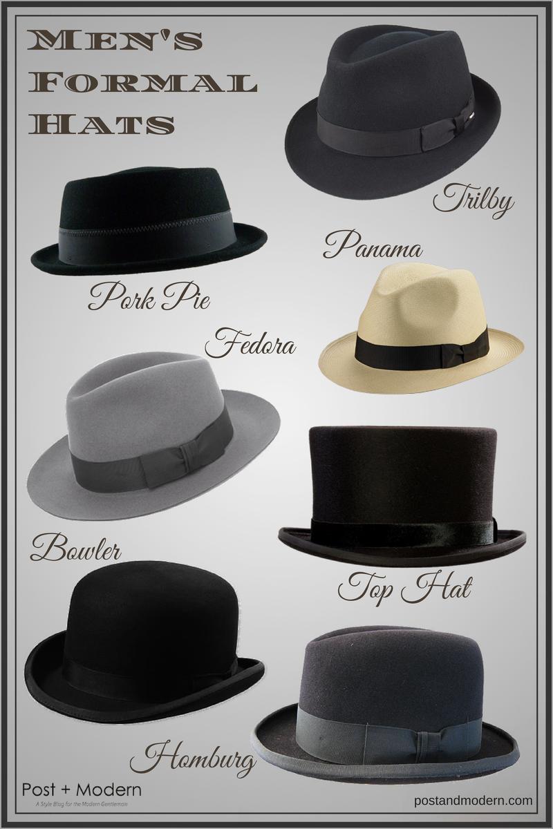 mens hats style names photo - 1