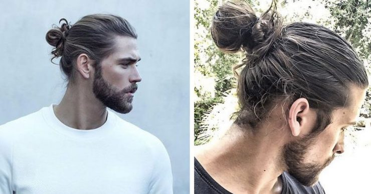 mens long hair style photo - 1