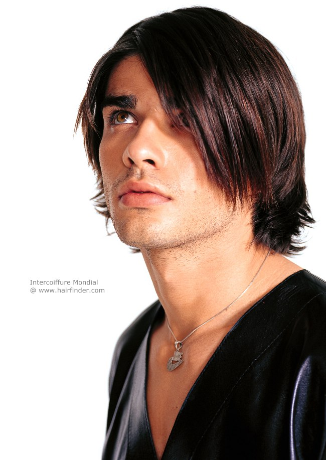 mens medium hair style photo - 1