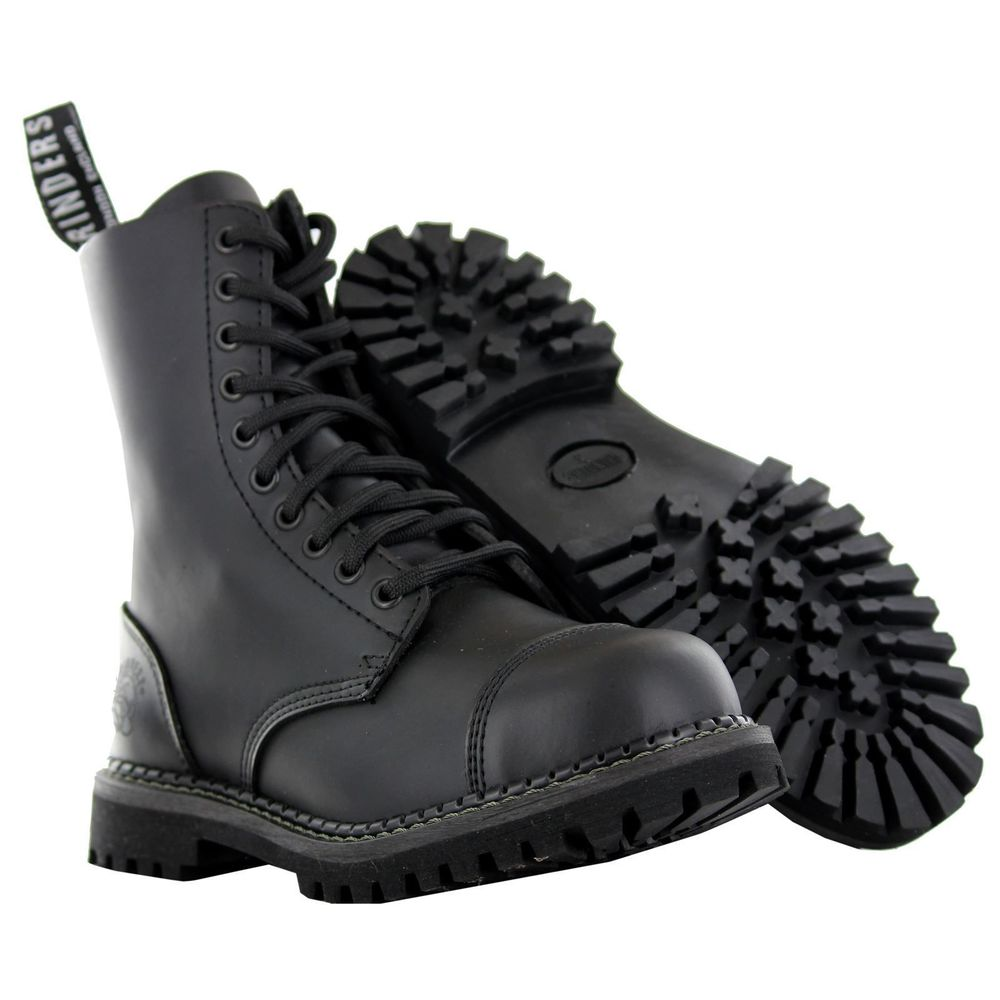 mens military style boots photo - 1