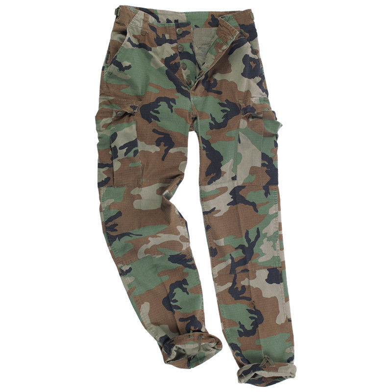 mens military style cargo pants photo - 1