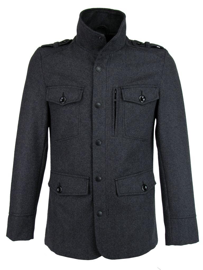 mens military style jacket photo - 1